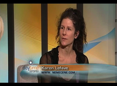 Daytime Toronto's Val Cole Interviews Science Fiction Author Karen Lefave About Nemecene