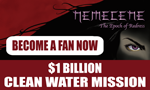 Nemecene Clean Water Mission Badge by science fiction author Karen Lefave